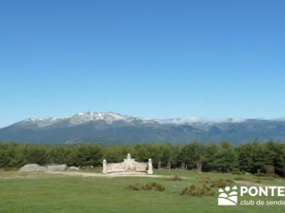 Ruta de Senderismo - Altos del Hontanar; rutas en bici por la sierra de madrid